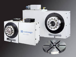Rotary Table offers high-precision gripping options.