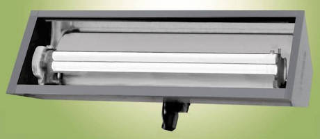 Linear Fluorescent Luminaire has energy conserving design.