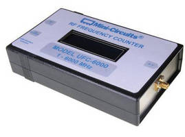USB-Powered Frequency Counter has wide RF frequency range.