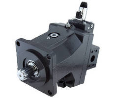 Bent Axis Motors feature electrical control.