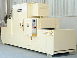 Belt Conveyor Oven is electrically heated to 250F.