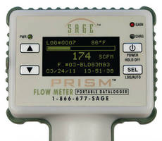 Thermal Mass Flow Meter offers choice of operating modes.