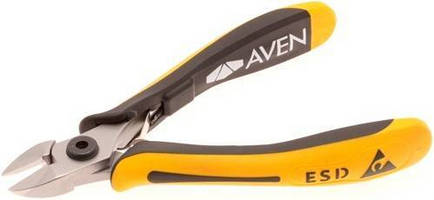 Heavy-Duty Wire Cutter features oval jaws.