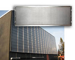 Solar Air Heater provides 80.7% peak solar efficiency.