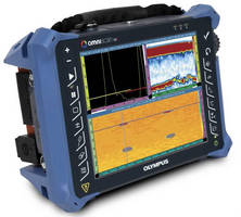 Phased Array Flaw Detector features 10.4 in. touchscreen.