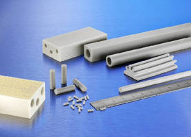 Aluminum Nitride Extrusion offers power insulating properties.
