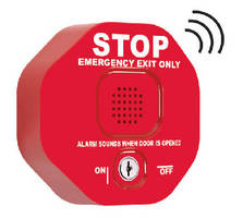 Multifunction Door Alarm prevents unauthorized use of fire doors.