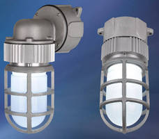 Vaporproof LED Fixture is rated for hazardous applications.