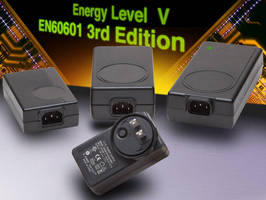 External Power Supplies comply with Energy Level V, EN60601.