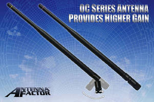 Dipole Antennas come in 916 MHz and 2.4 GHz models.