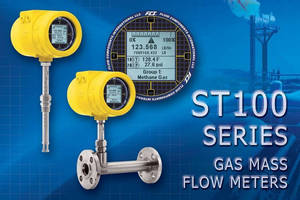 Thermal Mass Flow Meters have NEMA 4X/IP67 rated enclosure.