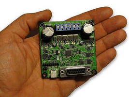 Intelligent DC Motor Controller directly drives two motors.
