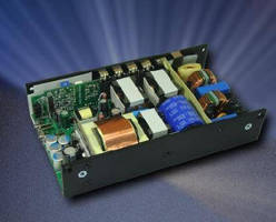 AC/DC Power Supplies target medical and dental applications.