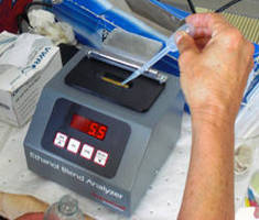Ethanol Blend Analyzer enables on-site measurements.