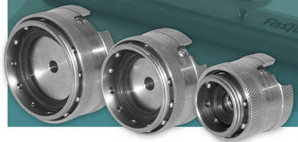 Flange Connector provides leak-tight, repeatable performance.