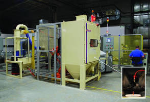 Robotic Grit-Blasting System stops finish variation.