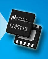 Half-Bridge Gate Driver IC reduces component count, PCB area.
