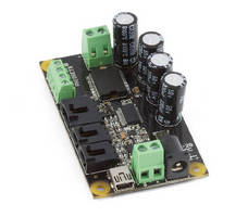 DC Motor Controller supports software-based control loops.
