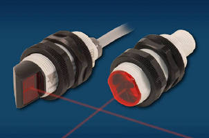 Photoelectric Sensors offer extended sensing ranges.