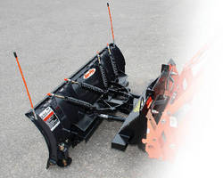 Plow Blades feature 30� hydraulic angle.