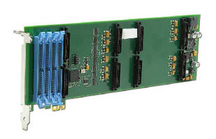 PCIe Carrier Card interfaces up to 4 mezzanine modules.