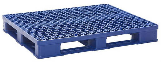 Hygienic Pallet suits food/pharmaceutical/medical applications.