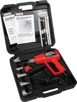 Welding Kit  provides hot air welding of thermoplastics.