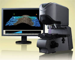 3D Laser Scanning Microscope performs roughness measurements.