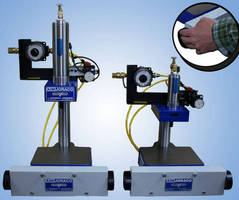 Benchtop Pneumatic Press suits small-scale applications.