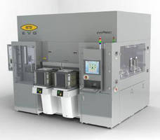 Semiconductor Wafer Bonding System handles 300 and 450 mm sizes.