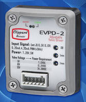 Proportional Valve Driver offers user-selectable parameters.
