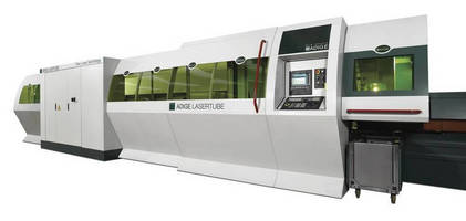 Automated Tube Cutting System utilizes fiber laser resonator.