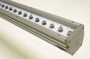 Linear LED Lighting System suits surface grazing applications.