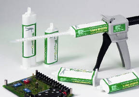 Polyurethane Adhesives bond plastic and metal substrates.