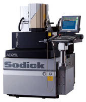 Sinker EDM accommodates workpieces up to 220 lb.
