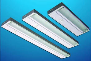 Undercabinet Luminaires employ long-life LEDs.