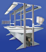 Modular Workstation supports unlimited reconfigurability.