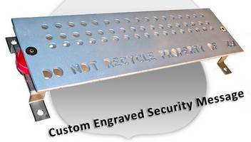 Copper Busbars offer theft-deterring engravings, coatings.