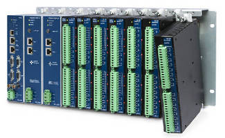 Modular Distributed Control System  combines RTUs and PLCs.