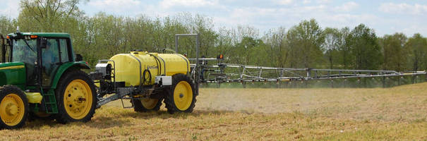 Customizable Agricultural Sprayer comes with 1,000 gal tank.