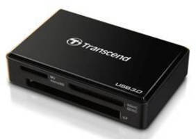USB 3.0 Multi Card Reader supports accelerated transfer rates.
