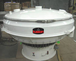 Vibratory Screener handles materials with oversize fractions.