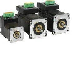 Integrated Stepper Motors feature CANopen connectivity.