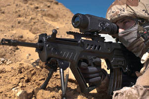 Un-cooled Thermal Weapons Sight weighs less than 1 kg.