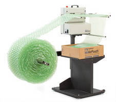Protective Packaging System inflates materials at 65 ft/min.