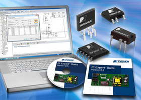 Power Supply Design Software generates schematic and BOM.