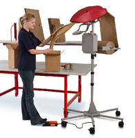 Paper Void Fill System uses advanced crimping system.