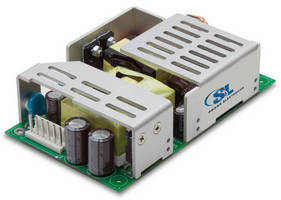 High-Efficiency AC/DC Power Supply occupies 3 x 5 in. footprint.