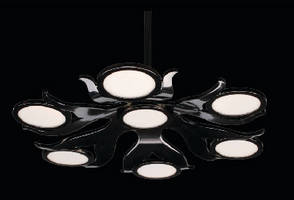 OLED Chandelier is energy efficient and eco-friendly.