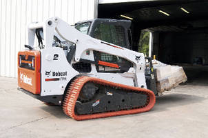 Rubber Replacement Track fits compact and mini track loaders.
